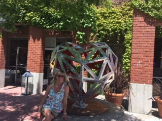 Heart of Yountville and Cathy